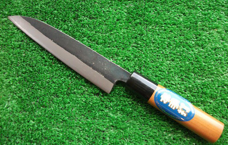 「エサ切り包丁」150mm(安来鋼,青鋼入)
