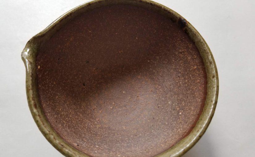 越前焼「筋目なし・すり鉢」