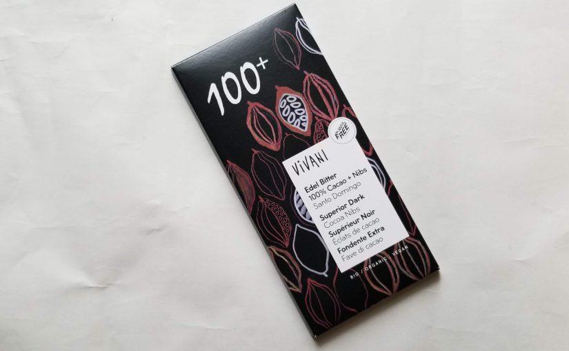ヴィヴァーニ「オーガニックエキストラダークチョコレート」100%80g