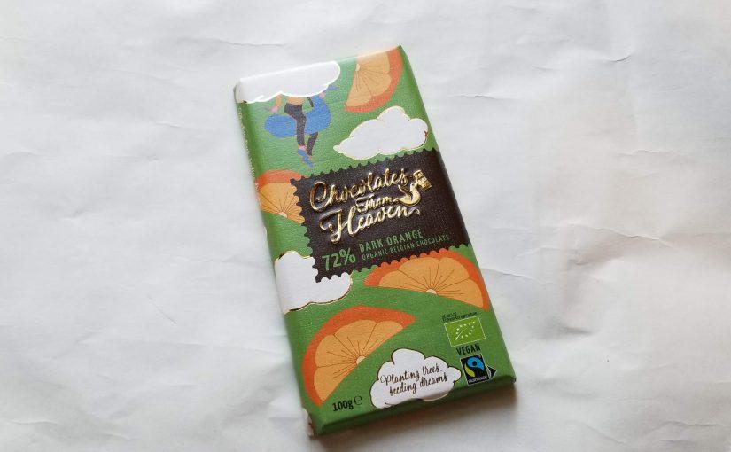 チョコレートフロムヘブン(ベルギー)<72%ダークオレンジ>